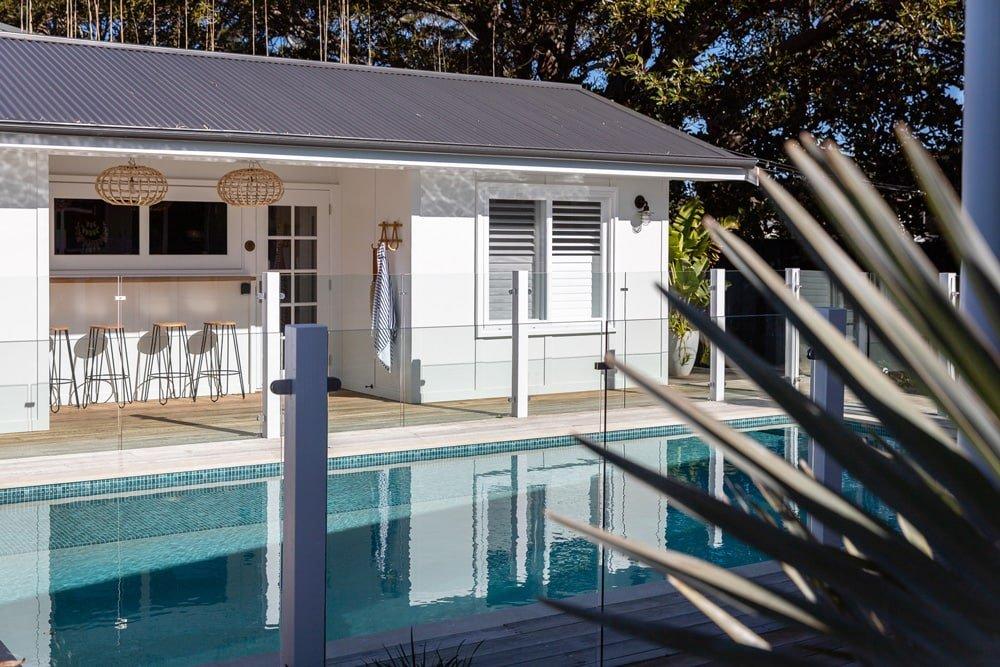 Cabana – Deck + Entry